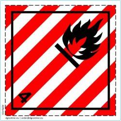 Veszélyes áru bárca No. 4.1